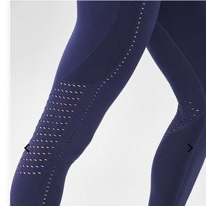 Fabletics Pants & Jumpsuits - Fabletics royal blue seamless 7/8 leggings
